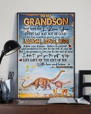 Grandma to Grandson - Poster 16x24 Poster lifestyle-poster-2