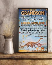 Grandma to Grandson - Poster 16x24 Poster lifestyle-poster-3