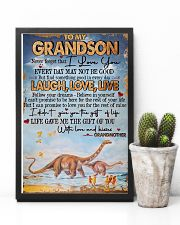 Grandma to Grandson - Poster 16x24 Poster lifestyle-poster-8