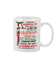 TO MY DAUGHTER-IN-LAW - AFRICAN WOMAN - CIRCUS Mug front