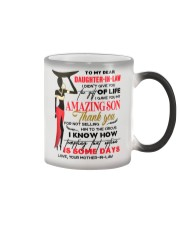 TO MY DAUGHTER-IN-LAW - AFRICAN WOMAN - CIRCUS Color Changing Mug thumbnail
