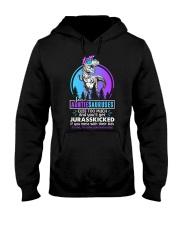 Some auntiesauruses cuss too much Hooded Sweatshirt thumbnail