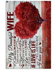 To Wife - Heart - If Kisses Were Water - Poster 16x24 Poster front