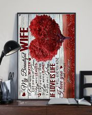 To Wife - Heart - If Kisses Were Water - Poster 16x24 Poster lifestyle-poster-2