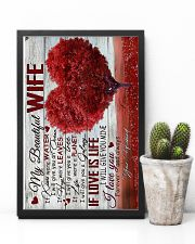 To Wife - Heart - If Kisses Were Water - Poster 16x24 Poster lifestyle-poster-8