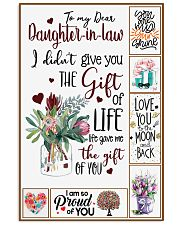 Daughter-in-law - Protea Flower - Gift Of Life Vertical Poster tile