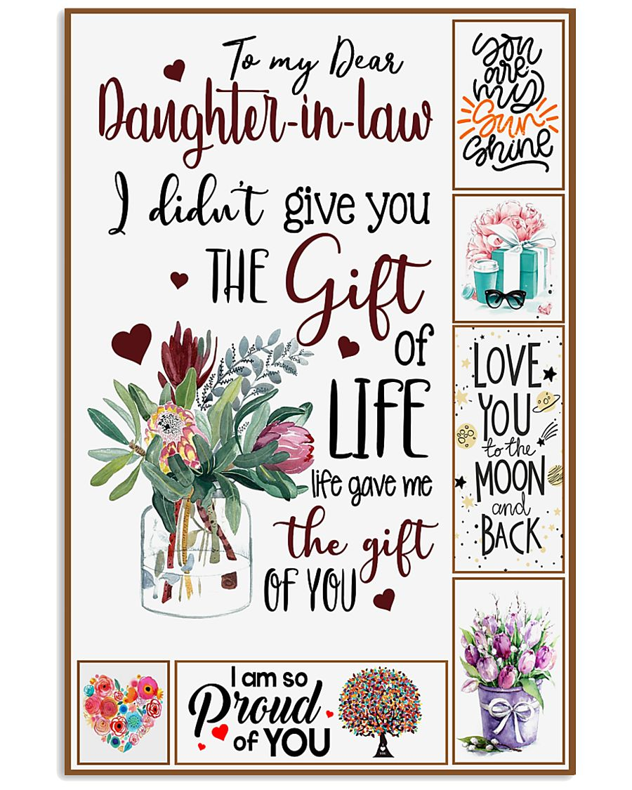 Daughter-in-law - Protea Flower - Gift Of Life 16x24 Poster