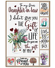 Daughter-in-law - Protea Flower - Gift Of Life 16x24 Poster front