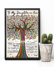 MOM TO DAUGHTER-IN-LAW 16x24 Poster lifestyle-poster-8