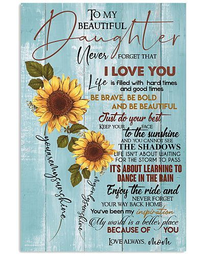 TO DAUGHTER - SUNFLOWER - INSPIRATION