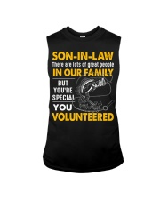 SON-IN-LAW - FISHING - VINTAGE - YOU VOLUNTEERED Sleeveless Tee thumbnail