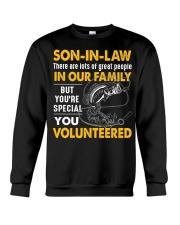 SON-IN-LAW - FISHING - VINTAGE - YOU VOLUNTEERED Crewneck Sweatshirt thumbnail