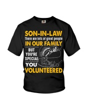 SON-IN-LAW - FISHING - VINTAGE - YOU VOLUNTEERED Youth T-Shirt thumbnail