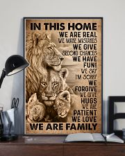 IN THIS HOME 16x24 Poster lifestyle-poster-2