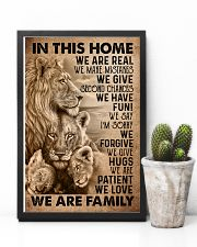 IN THIS HOME 16x24 Poster lifestyle-poster-8