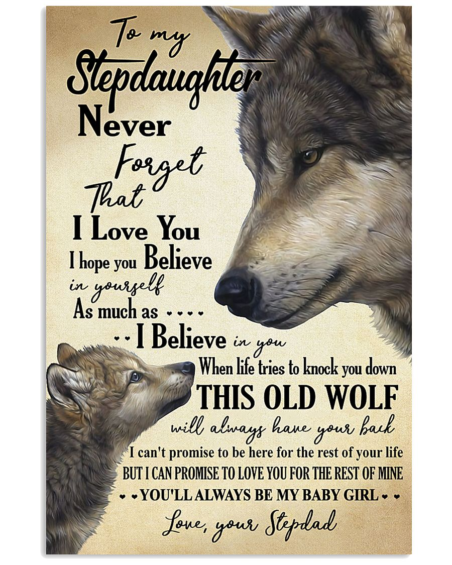 STEPDAD TO STEPDAUGHTER 16x24 Poster