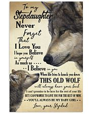 STEPDAD TO STEPDAUGHTER 16x24 Poster front