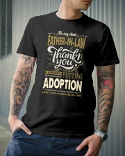 T-SHIRT - TO MY FATHER-IN-LAW - THANK YOU Classic T-Shirt lifestyle-mens-crewneck-front-6