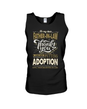 T-SHIRT - TO MY FATHER-IN-LAW - THANK YOU Unisex Tank thumbnail