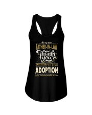 T-SHIRT - TO MY FATHER-IN-LAW - THANK YOU Ladies Flowy Tank thumbnail