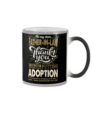 T-SHIRT - TO MY FATHER-IN-LAW - THANK YOU Color Changing Mug thumbnail