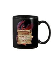 To Granddaughter - Believe In Yourself - Mug Mug front