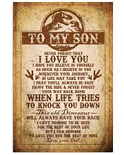 Dad To Son - Never Forget That I Love You 16x24 Poster front