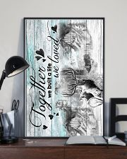 HUSBAND AND WIFE - DEER - HUNTING - TOGETHER 16x24 Poster lifestyle-poster-2
