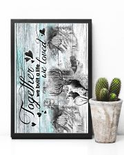HUSBAND AND WIFE - DEER - HUNTING - TOGETHER 16x24 Poster lifestyle-poster-8