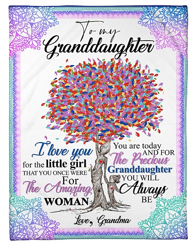 TO GRANDDAUGHTER - OLD TREE - LITTLE GIRL