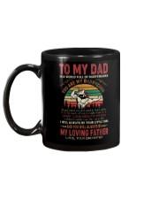 MUG - TO MY DAD - UNICORN Mug back