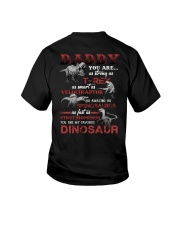 T-SHIRT - TO MY DAD - MY FAVORITE DINOSAUR Youth T-Shirt tile
