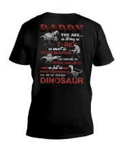 T-SHIRT - TO MY DAD - MY FAVORITE DINOSAUR V-Neck T-Shirt tile