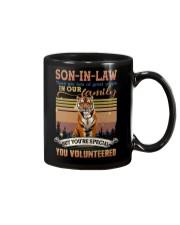 Son-in-law - Tiger - You Volunteered - T-Shirt  Mug thumbnail