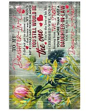 To My Daughter-in-law - Protea - The One - Poster 16x24 Poster front