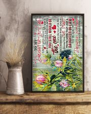 To My Daughter-in-law - Protea - The One - Poster 16x24 Poster lifestyle-poster-3