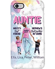 Auntie - Personalized Phone Case i-phone-8-case