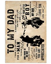 To My Dad - Motorcylcle - Poster 16x24 Poster front