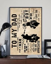To My Dad - Motorcylcle - Poster 16x24 Poster lifestyle-poster-2