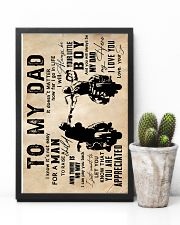 To My Dad - Motorcylcle - Poster 16x24 Poster lifestyle-poster-8