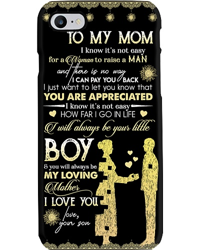 TO MY MOM - PHONE CASE - YOU ARE APPRECIATED