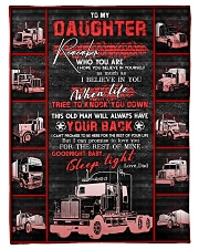 """To My Daughter - Love You For The Rest Of Mine  Small Fleece Blanket - 30"""" x 40"""" front"""