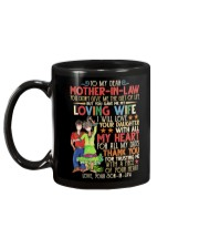 SON TO MOTHER-IN-LAW Mug back