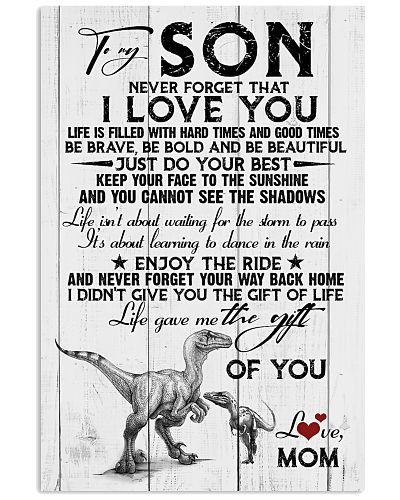 POSTER - TO MY SON - DINO - NEVER FORGET THAT