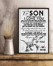 POSTER - TO MY SON - DINO - NEVER FORGET THAT 16x24 Poster lifestyle-poster-3
