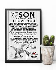 POSTER - TO MY SON - DINO - NEVER FORGET THAT 16x24 Poster lifestyle-poster-8