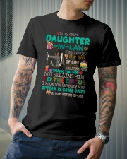 TO MY DAUGHTER-IN-LAW - SEWING - CIRCUS Classic T-Shirt lifestyle-mens-crewneck-front-6