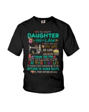 TO MY DAUGHTER-IN-LAW - SEWING - CIRCUS Youth T-Shirt thumbnail