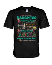 TO MY DAUGHTER-IN-LAW - SEWING - CIRCUS V-Neck T-Shirt thumbnail