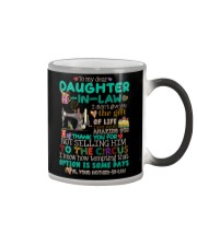 TO MY DAUGHTER-IN-LAW - SEWING - CIRCUS Color Changing Mug thumbnail